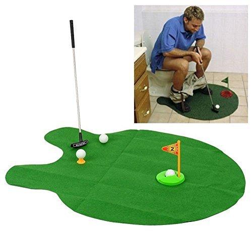 ゴルフ好きにおすすめ!トイレで練習可能なゴルフ用品