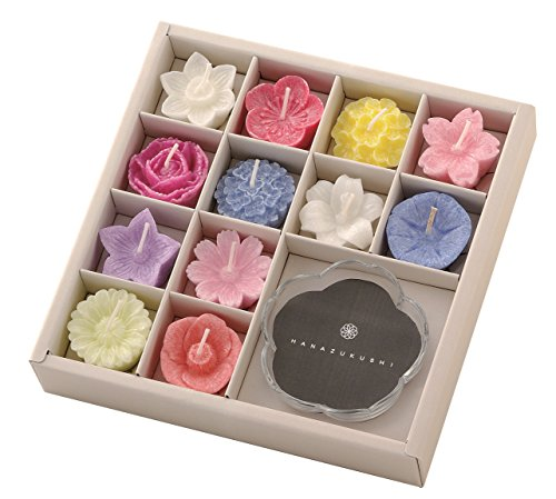 フローティングキャンドルは多くの花の香りが楽しめるアロマキャンドル