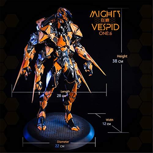 【R・DOLL】 1/6 フィギュア ドール コスプレ モデル Mighty vespid ロボット 情景 道具 置物 甲冑 彫像 アクセサリー ホビー 飾り Nrtoys