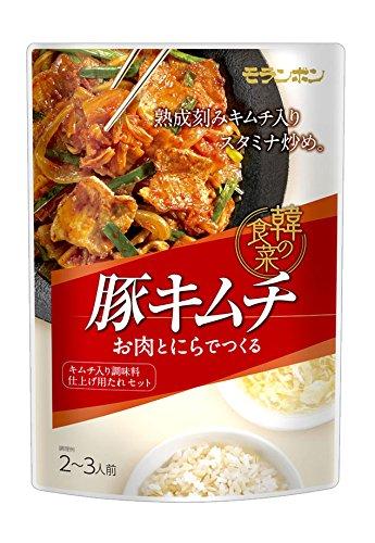 モランボン 韓の食菜 豚キムチ 180g×10袋