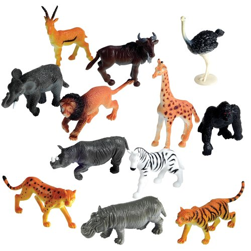 Learning Resources 60ピースの動物模型で学ぶ Jungle Animal Counters, Set of 60 【並行輸入品】