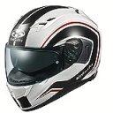オージーケーカブト(OGK KABUTO)バイクヘルメット フルフェイス KAMUI3 NACK(ナック) ホワイトブラック (サイズ:L) 584887