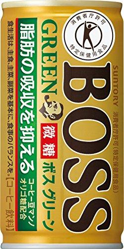 [トクホ]ボスグリーン 185g缶×30本