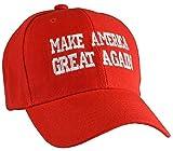 ドナルドトランプ 帽子 キャップ 赤 Make America Great Again アメリカ 大統領 コスプレ グッズ [並行輸入品]