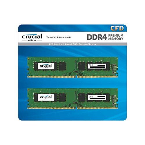CFD販売 デスクトップPC用メモリ PC4-21300(DDR4-2666) 8GB×2枚 288pin (無期限保証)(Crucial by Micron) W...