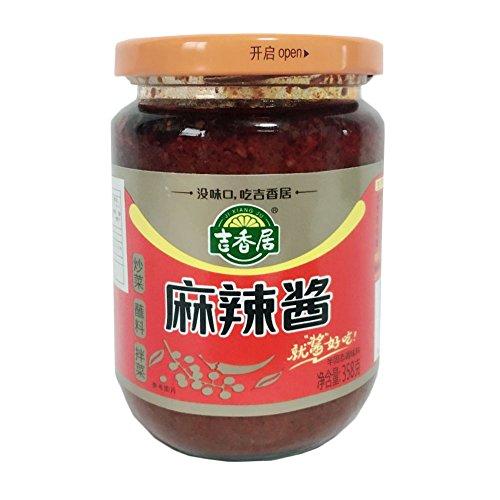 吉香居麻辣醤 チリソース 中華醤 358g