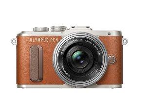 OLYMPUS ミラーレス一眼 E-PL8 EZ ダブルズームキット ブラウン