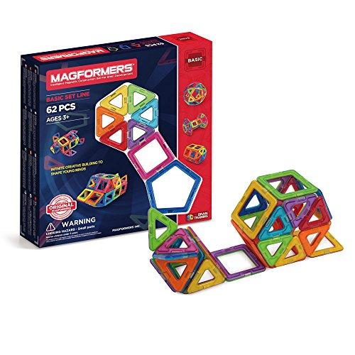 マグ・フォーマーは年齢に応じって作れる知育玩具