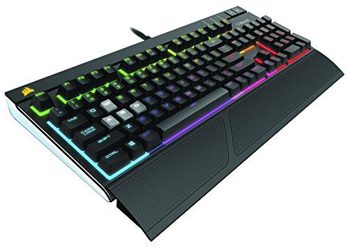 Corsair Gaming STRAFE RGB Cherry MX SILENT 日本語 ゲーミングキーボード KB322 CH-9000121-JP