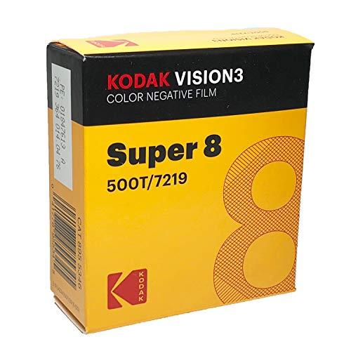 コダック スーパー8 カラーネガ VISION3 500T 7219 / 50フィート カートリッジ