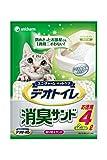 【セット販売】1週間消臭・抗菌 デオトイレ 取りかえ専用 消臭サンド 4L×4袋