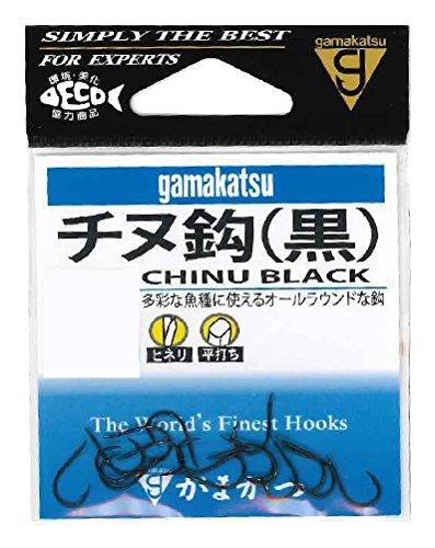 がまかつ(Gamakatsu) チヌ(黒) フック 2号 釣り針