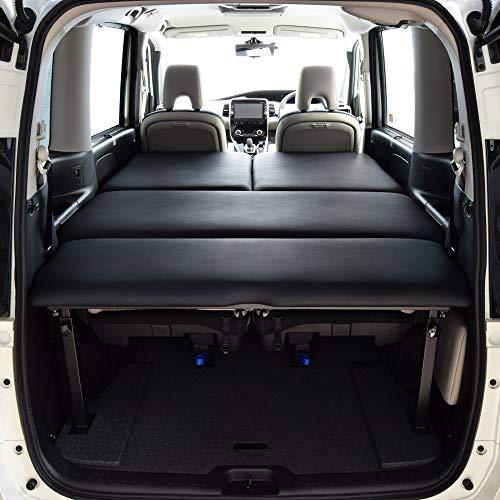 ニッサン セレナ C27専用(セレナeパワー対応) ブラックレザー ベッドキット 40mmウレタン仕様 車中泊
