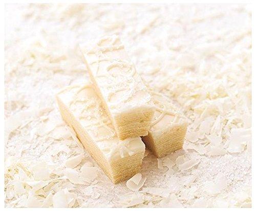 柳月 濃い白小割 白い三方六の小割 ホワイトデー