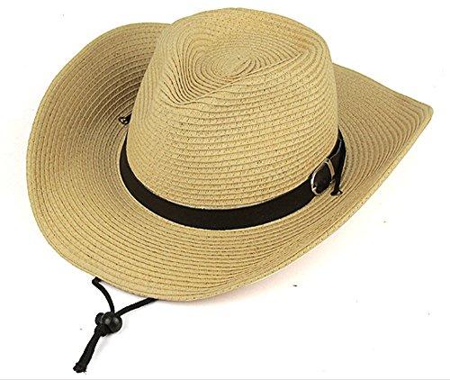 イズミヤの麦わら帽子を祖父にプレゼント