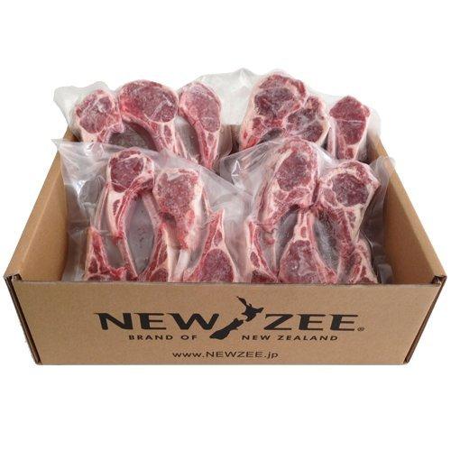 NEWZEE ラムチョップ ニュージーランド 【100%牧草ラム】 20 x 50g チョップ (合計1kg) 【冷凍】 - NEWZEE Lamb Chops from New Zealand - 20 x 50g chops (1kg) [100% GRASS FED] [FROZEN]