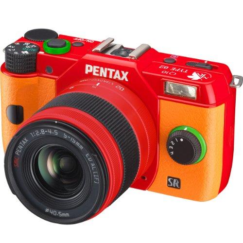 PENTAX ミラーレス一眼 Q10 エヴァンゲリオンモデル ズームレンズキット 標準ズーム 02 STANDARD ZOOM TYPE 02: アスカ 12609