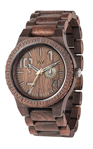 [ウィウッド]WEWOOD 腕時計 ウッド/木製 マルチファンクション OBLIVIO CHOCOLATE 9818082 メンズ 【正規輸入品】