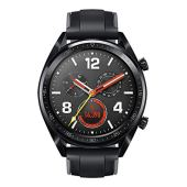 HUAWEI WATCH GT スマートウォッチ GPS内蔵 気圧高度計 iOS/Android対応 WATCH GT Sports/Black ベルト/シリコン 【日本正規代理店品】