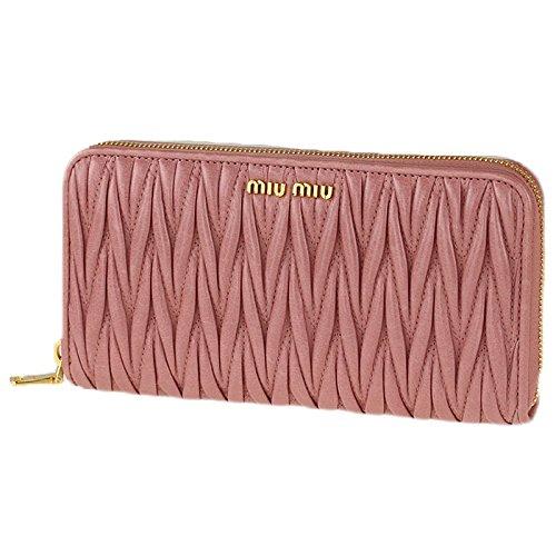 miumiuの長財布を女子にプレゼントすると喜びます