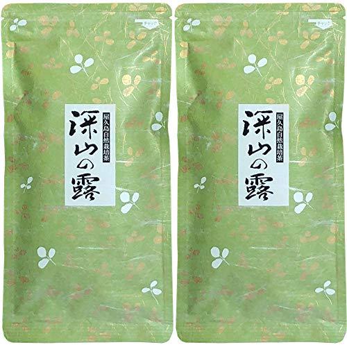 屋久島@深山園 屋久島自然栽培茶「深山の露」 無農薬 (100g×2袋)