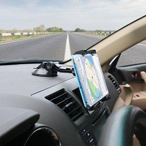 OHLPRO タブレットホルダー車載ステント,360度回転吸盤式車載ダッシュボード マウントホルダースタ,7-9.7-10.5インチ タブレット ホルダー [並行輸入品]