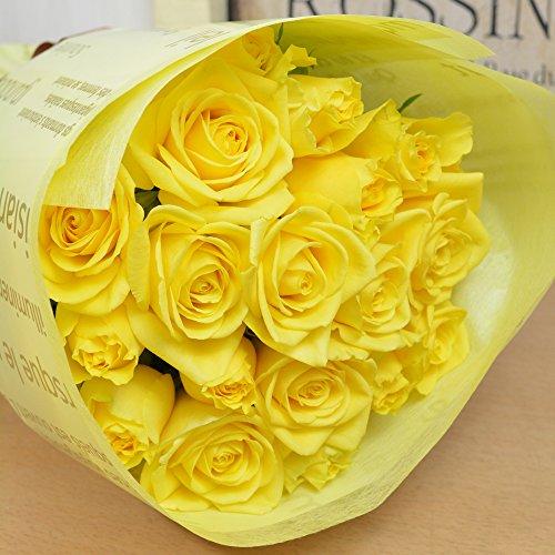父の日の定番の花束は黄色いバラ