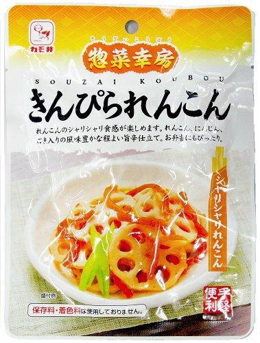 カモ井 惣菜幸房 きんぴられんこん75g×20袋