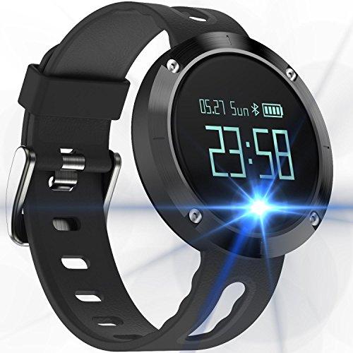 スマートウォッチ 心拍計 活動量計 血圧測定 歩数計 スマートブレスレット 腕時計型 消費カロリー 睡眠検測...