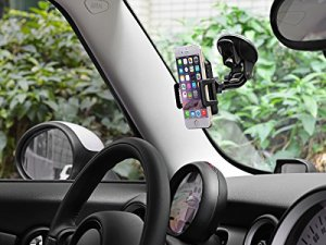 車載ホルダー TaoTronics ゲル吸盤式 スマートフォン 携帯車載ホルダー カーホルダー TT-SH08