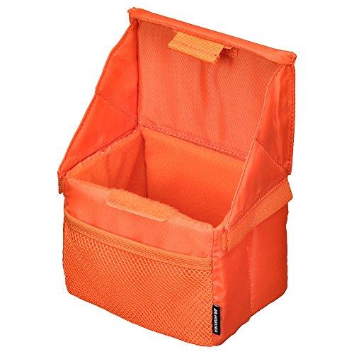 HAKUBA フォールディング インナー ソフト ボックス フタ付 A オレンジ KCS-38AOR 1.2L