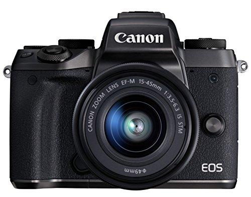 Canon ミラーレス一眼カメラ EOS M5 レンズキット EF-M15-45mm F3.5-6.3 IS STM 付属 EOSM5-1545ISSTMLK