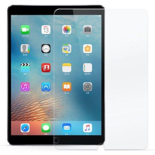 ESR 新しいiPad Pro 10.5 フィルム 三倍強化旭硝子 硬度9H 0.3mm 爆裂防止 気泡防止 指紋付きにくい 高透明度 iPad Pro10.5インチ専用 液晶保護フィルム