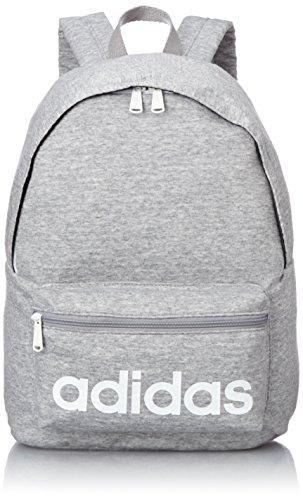 [アディダス] adidas リュックサック 18L ジャージー素材 46833 09 (ミディアムグレーヘザー)