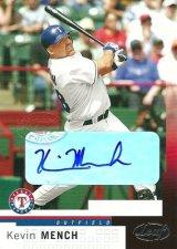 ケビン メンチ 2004 Leaf Autographs / Kevin Mench