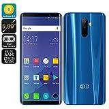 Elephone U Pro 4G Phablet - BLUE 6GB RAM + 128GB ROM アンドロイド スマートフォン