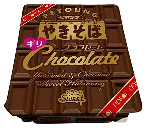 まるか ペヤング チョコレートやきそば ギリ 107g×18個