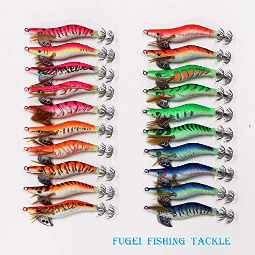 夜光 イカ釣り用 エギ 2.0号 20個 セット 【A20egi20h20P】エギング エギ 餌木