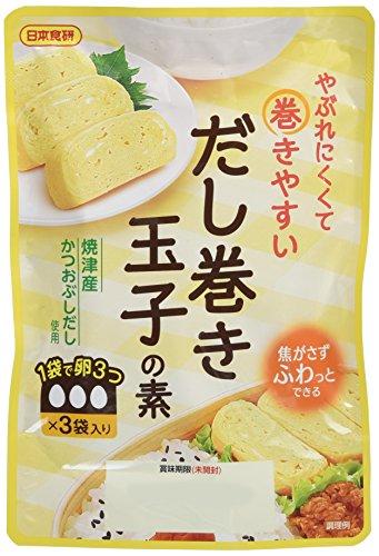 日本食研 だし巻き玉子の素 40g×3P×3個