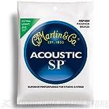 Martin アコースティックギター弦 SP ACOUSTIC(92/8 Phospher Bronze) MSP-4000 Extra Light .010-.047