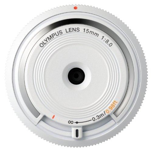 OLYMPUS ボディキャップレンズ マイクロフォーサーズ用 ホワイト BCL-1580 WHT