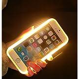 【ミニ品】新品発光ケース登場!iPhone5/5s/se/6/6s/6 Plus/6s Plus用発光ケース 夜間自分撮りに光を補助でき、もっと美しい写真に!カバータイプ Iphone PCケース iphone5/5s...