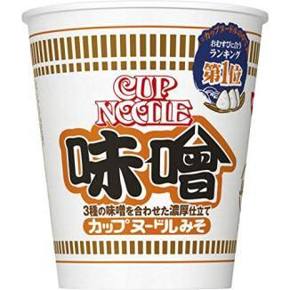 日清 カップヌードル 味噌 83g×20個