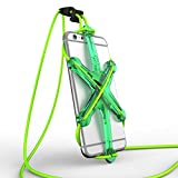 XPORTER NEO スポーツ用ストラップ・ホルダー for iPhone 6/6plus/6s & Smartphones ランニング・ジョギング・サイクリングに最適 (グリーン&ライム)