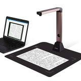 iOCHOW S1 ドキュメントスキャナー 高画質USB書画カメラ 800万画素 日本語文章識別 スキャナー a3 スキャナー b4 OCR機能 LEDライト付き 教室 オフィス