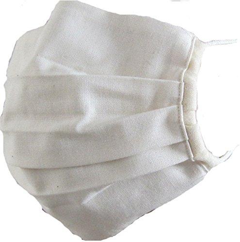 洗えるオーガニックコットンで作った立体タイプのマスク ナチュラル  SIGN サイン NOC GREEN認定商品