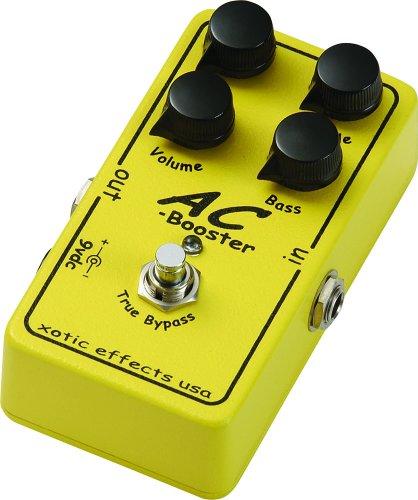 Xotic エキゾチック エフェクター ブースター AC Booster 【国内正規品】 【最新】Paul Gilbert(ポール・ギルバート)の機材・エフェクターボードを解析!ギターを支える機材の数々を紹介!【金額一覧】