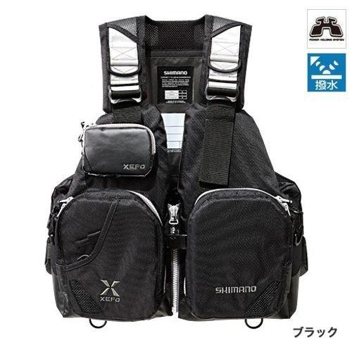 シマノ(SHIMANO) XEFO フローティングベスト タックルフロートジャケット (ベーシック) ブラック VF-272N フリーサイズ
