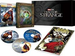 ドクター・ストレンジ MovieNEXプレミアムBOX:数量限定商品 [ブルーレイ3D+ブルーレイ+DVD+デジタルコピー(クラウド対応)+MovieNEXワールド] [Blu-ray]