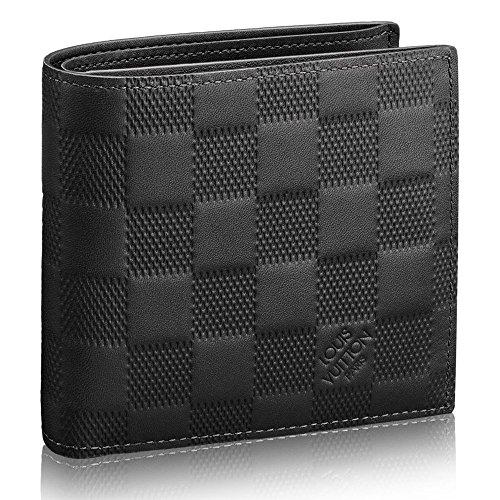 ルイヴィトン LOUIS VUITTON 財布 二つ折り財布 メンズ ポルトフォイユ・マルコ NM ダミエ・アンフィニ N63334